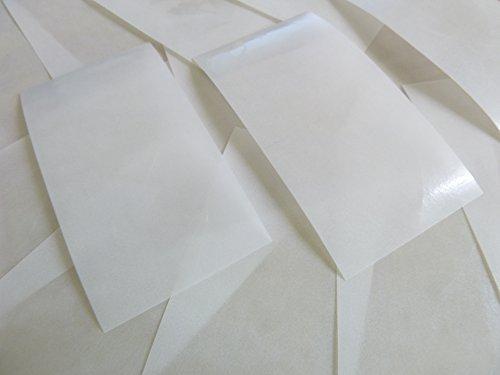 28x28mm Gloss Transparente Claro Plástico Con Forma De Corazón Etiquetas, 60 auta-Adhesivo Código De Color Adhesivos, adhesivo Corazones para Manualidades y Decoración