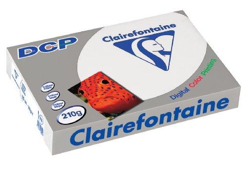 Clairfontaine 1855 - DCP Kopierpapier A4, 210 g/qm, 125 Blatt, hochweiß