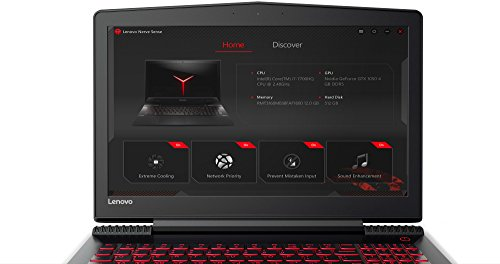 Lenovo Y5 20 Laptop (Windows 10, 6GB RAM, 1000GB HDD, Intel Core i7, Black, 15.6 inch)