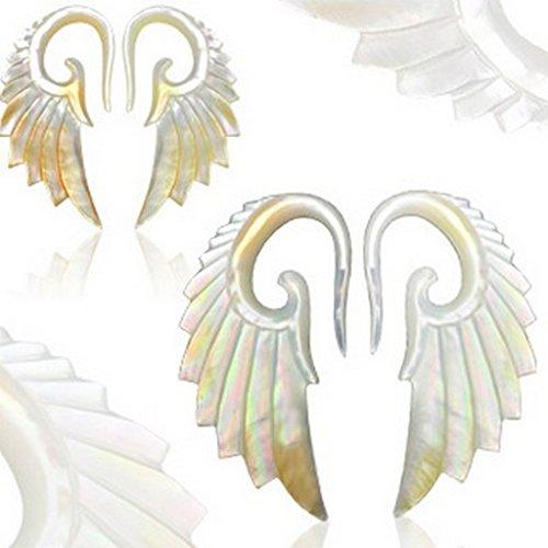 Paire de piercing Ecarteur perles Taille 4 mm