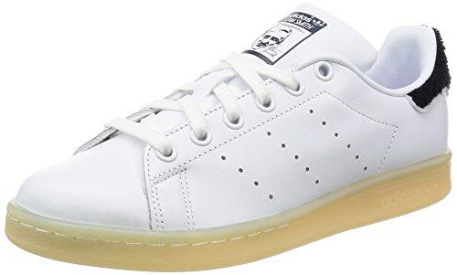 adidas Stan Smith W, Baskets Femme Blanc Cassé (Ftwwht/Ftwwht/Conavy)