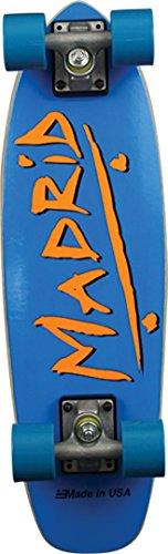 Madrid Skateboards Midget Party Blue Mini Cruiser -