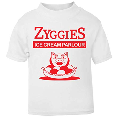 Bill and Ted Zyggies Ice Cream Parlour Baby and Toddler Short Sleeve T-Shirt