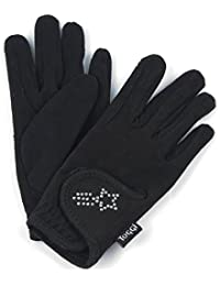 Toggi Kids' Gleam Bling Gloves Pants, Black, Large