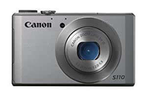 Canon PowerShot S110 12MP Point and Shoot Camera (Silver) with 5x Optical Zoom, Memory Card and Camera Case