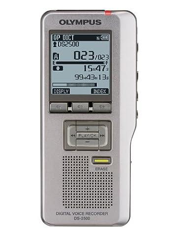 Olympus DS 2500 Dictaphones Connexion PC, Modes d'Enregistrements Convertibles, Type de Stockage: Carte Mémoire, Activation Vocale, Reconnaissance Vocale (DSS)