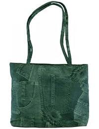 7668d28a5e AMOS Womens Ladies Girls Kids Tote Shoulder Bag Shopper Satchel Messenger  Handbag Denim Style Fashion Carry