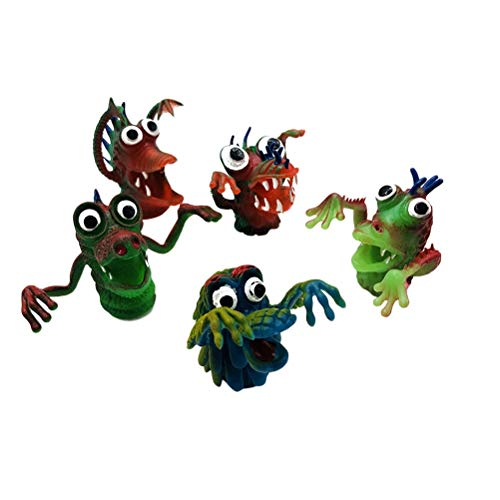 Toyvian 5 unids niños Marionetas Dedo simulación