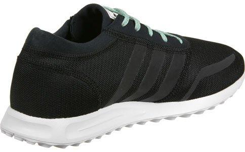 adidas Los Angeles, chaussure de sport homme noir turquoise