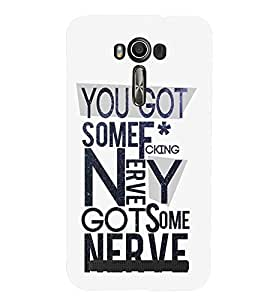 printtech Nerve Back Case Cover for Asus Zenfone 2 Laser ZE500KL::Asus Zenfone 2 Laser ZE500KL (5 Inches)