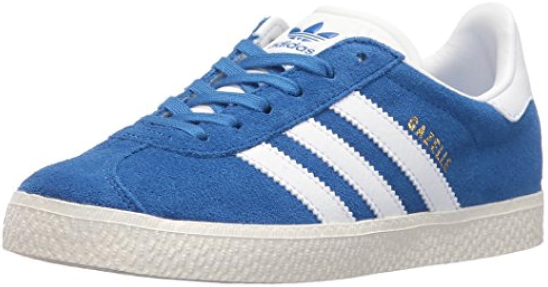 adidas originaux garçons « / gazelle c basket, bleu / « blanc / metallic / or, 1,5 m petit 2c0522