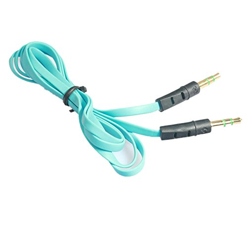 Xshuai Audio Kabel 3,5 mm 1 M Portable Stereo Headset Auto Telefon Audio Kabel Universal für iPhone iPad iPod Samsung HTC und so Weiter (Blau) Galaxy Audio-kabel-tester
