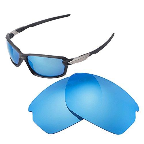 Walleva Ersatz Linsen für Oakley Carbon Shift–mehrere Möglichkeiten, Ice Blue - Polarized (Ice Blue Ice Angel)