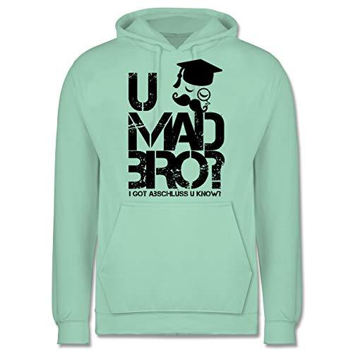 Abi & Abschluss - U MAD BRO? I got Abschluss u Know. - 3XL - Mint - JH001 - Herren Hoodie