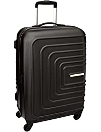 American Tourister Sunset Square ABS 55 cm Black Hardsided Carry On (AMT SUNSET SQUARE SP55 BLACK)