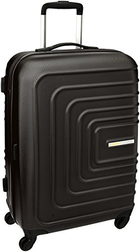 American Tourister Sunset Square ABS 38 Ltrs Black Hardsided Carry On (AMT SUNSET SQUARE SP55 BLACK)