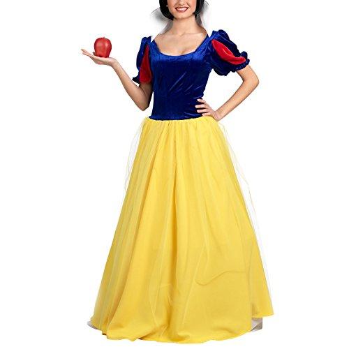 Erwachsene Für Kostüm Märchen Weiße - Limit Sport Märchen-Prinzessinnen-Kostüm für Damen