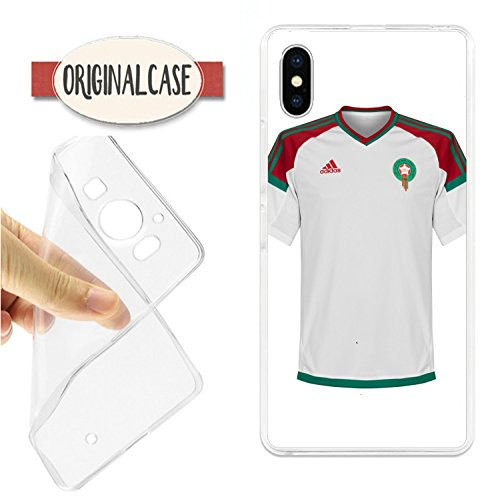 carcasaschulas FUNDA CARCASA IPHONE X SELECCION DE MARRUECOS DE FUTBOL be22c8948101a