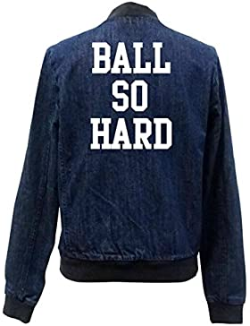 Ball So Hard Bomber Chaqueta Girls Jeans Certified Freak