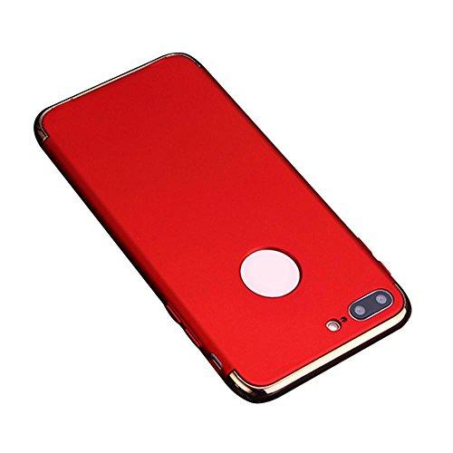 IPhone 7 Plus Hülle, 3 in 1 Ultra Dünner Harter Anti-Kratzer Stoßfestes Elektrodengestell mit Beschichteter Oberfläche Ausgezeichneter Griff-Fall für Apple IPhone 7 Plus (Telefon Fällen Iphone 4s)