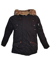 Tisey® F-3 Herren Winter-Jacke gefüttert Jacke Mantel Daunenjacke sky jacke winterjacke herren winter jacke