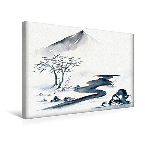 Premium Textil-Leinwand 45 cm x 30 cm quer, Weg des Lebens   Wandbild, Bild auf Keilrahmen, Fertigbild auf echter Leinwand, Leinwanddruck (CALVENDO Kunst)