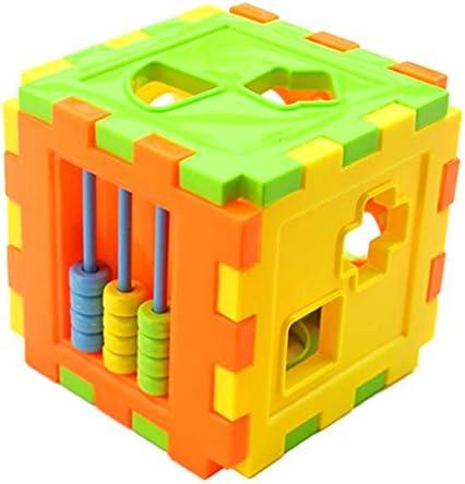 SODIAL SODIAL SODIAL Jouets educatifs pour bebe , Boite de tri intelligent de blocs d'apparieHommes t geometrique | Emballage Solide  748aee