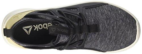 Reebok Cn0731, Scarpe De Fitness Donna Nero (charbon / Cendres Gris / Paille / Craie)