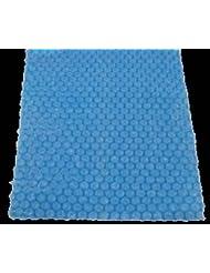 Laurens Bâche solaire extra épais (400mu) pour & # x192; Â ¼ r piscine 259x 170cm