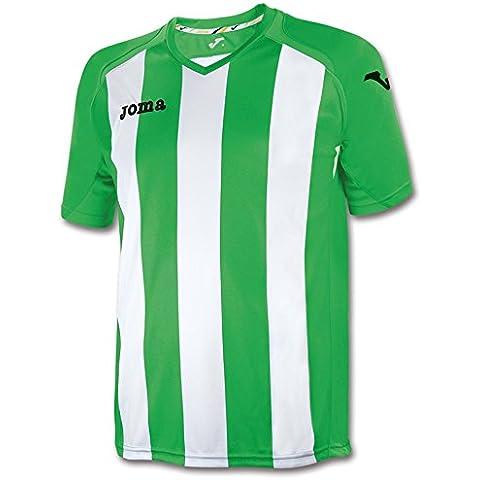 Joma, T-Shirt Pisa 12 Green/White M/C, Taglia: XL