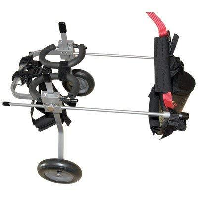 Silla de ruedas para perros - Talla M para altura de 40-51cm