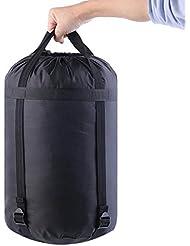 SOOFO Paquete de Almacenamiento de Bolsas de Dormir al Aire Libre, Ligero, Impermeable,