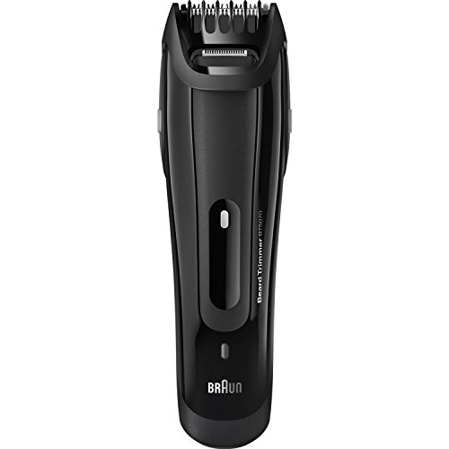 Braun BT5070 Cordless and Rechargeable Beard Trimmer for Men (Black)