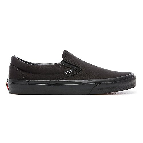 vans unisex adults classic slip on black