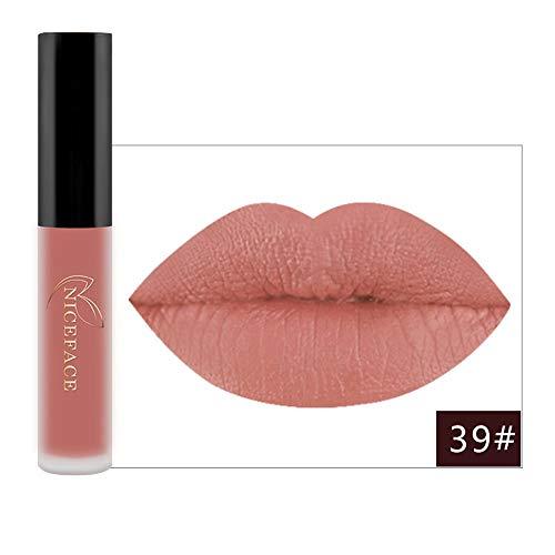 Dtuta lippenstifte, Frau Wasserdicht Lippglosse Matt matt, leicht und einfach zu färben Täglich Dating