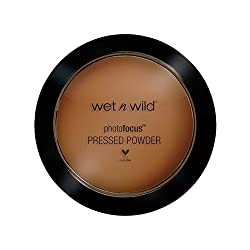 (3 Pack) WET N WILD Photo Focus Pressed Powder - Dark Cafe