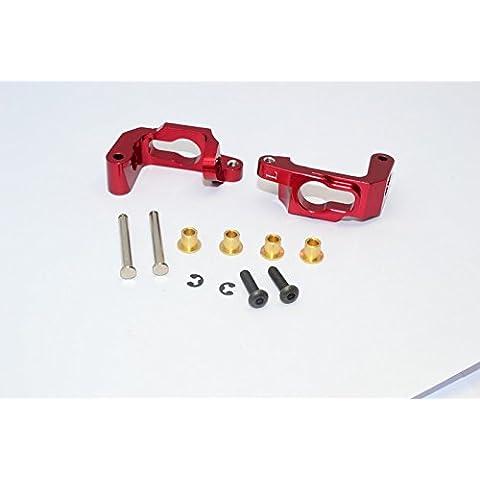 HPI Bullet 3.0 Nitro & Bullet Flux Upgrade Parts Aluminium C-Hub - 1Pr Set Red