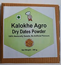 Kalokhe Agro Product's Dry Dates Powder, 300 g, (No Additives, No Preservatives) Kharik Powder