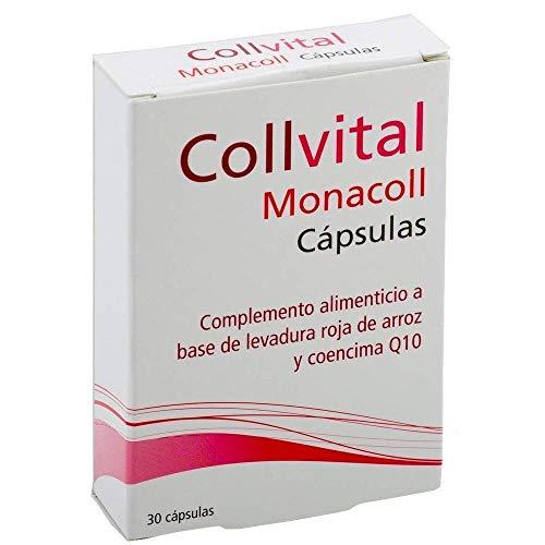 Rote Reishefe + COENZIMA Q10 - Stabilisator des Cholesterinspiegels - 100% natürlich - 30 Kapseln pro Tag - 5% von Monacolina