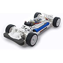 Tamiya TT-02 Chassis White Special Brushed 110 Automodello Elettrica Auto stradale 4WD In kit da costruire