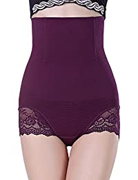 b63ff829d BDSMAGE Women s Shapewear High Waist Tummy Control Panties Corset Slimming  Seamless Underwear Butt Lifter Sexy Lace