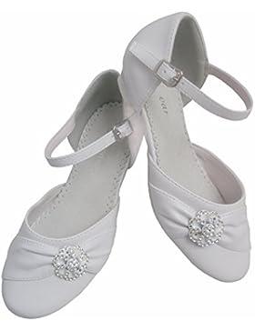 YES - Bailarinas de cuero sintético para niña