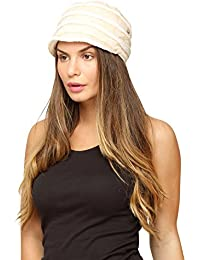 FabSeasons White Foldable Turkey Cotton Cloth Fancy Cap