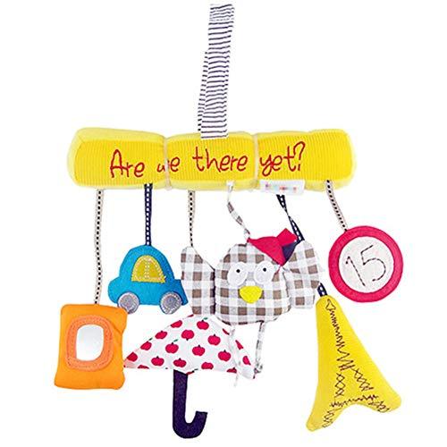 Dylandy Baby Nachttisch Anhänger Dekoration Eule Musik Plüsch Spielzeug Anhänger Kreativ Lernspielzeug