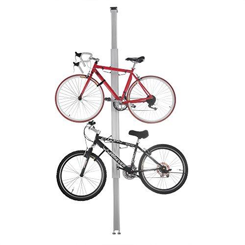 Rad Fahrrad Produkte Aluminium Ständer Rack Speicher oder Display für Zwei Fahrräder - Traditionelle Trainer