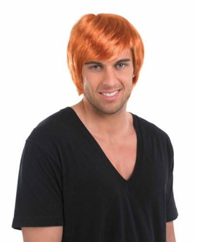 Ginger Boy Band Wig (Ingwer-band)