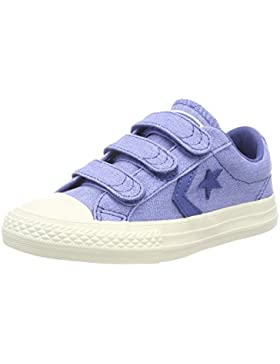 Converse Lifestyle Star Player Ev 3v Ox Canvas, Zapatillas de Deporte Unisex niños