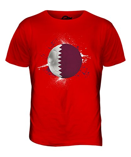 CandyMix Katar Fußball Herren T Shirt Rot