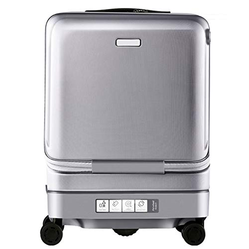 XDDQB Trolley-Koffer 20-Zoll-Smart-Follow-Koffer Abs + Pc-Koffer Business-Koffer-Boarding-Koffe