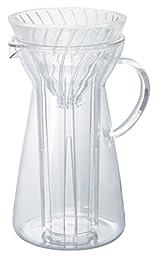 Hario V60Iced Coffee Maker, Vidrio, Transparente
